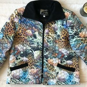 Quilted patterned jacket | Judy Joannou Designs